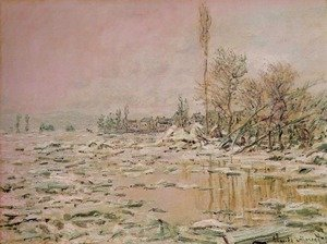 Famous paintings of Ice: Break-Up of the Ice