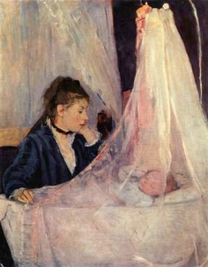 Reproduction oil paintings - Berthe Morisot - Cradle