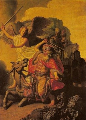 Angel and the Prophet Balaam