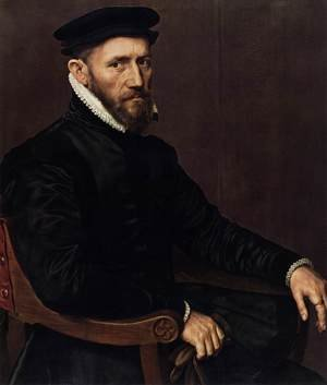 Famous paintings of Men: Sir Thomas Gresham 1565-70
