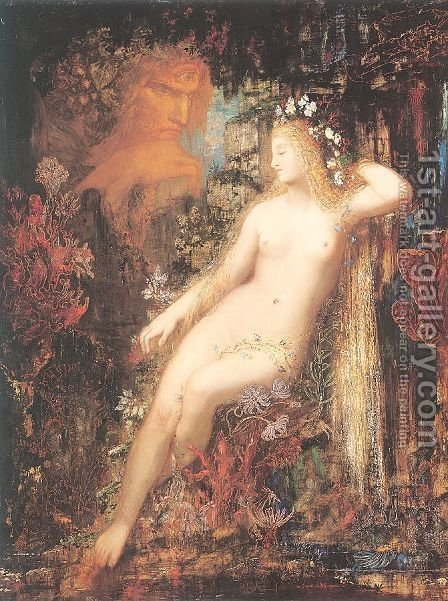 Galatea 1878-80 by Gustave Moreau - Reproduction Oil Painting