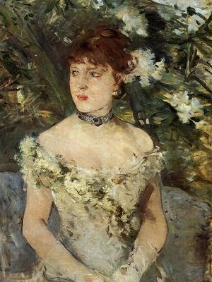 Reproduction oil paintings - Berthe Morisot - Young Woman Dressed for the Ball 1879