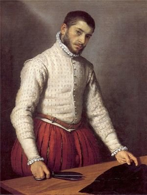 Mannerism painting reproductions: The Tailor c. 1570