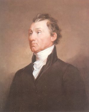 Famous paintings of Men: Portrait of James Monroe 1819-20