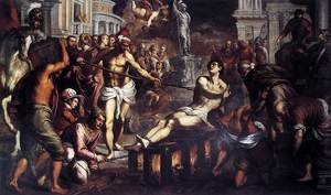 The Martyrdom of St Lawrence 1575