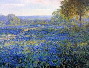 Fields of Bluebonnets 1920