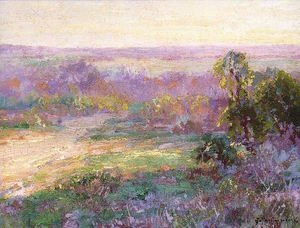 Last Rays of Sunlight, Early Spring in San Antonio 1922