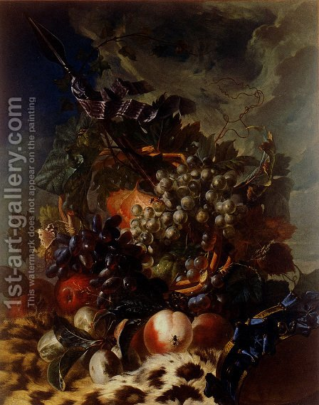 Still-Life with Fruit by Luis Paret Y Alcazar - Reproduction Oil Painting
