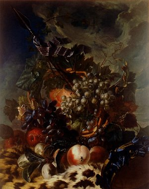 Famous paintings of Apples: Still-Life with Fruit