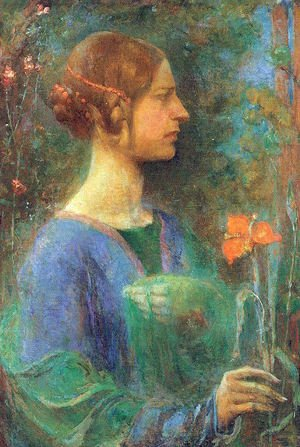 Clara Weaver Parrish reproductions - The Red Lily 1914