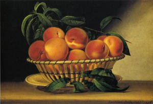 Reproduction oil paintings - Raphaelle Peale - Bowl of Peaches 1816