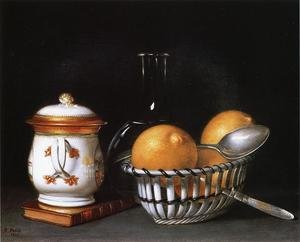 Reproduction oil paintings - Raphaelle Peale - Lemons and Sugar 1822