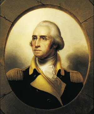 Reproduction oil paintings - Rembrandt Peale - George Washington 1850