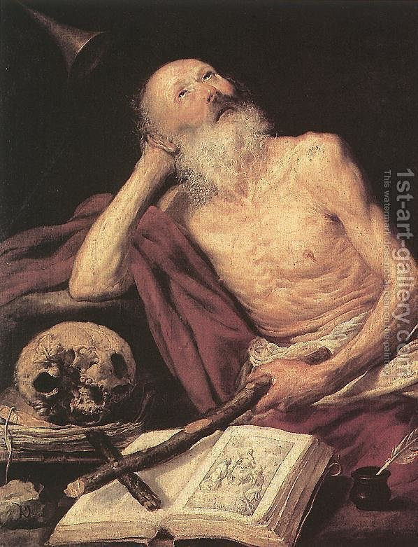Huge version of St Jerome 1643