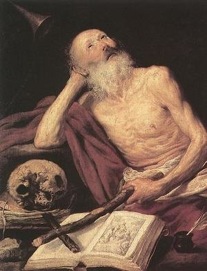 Reproduction oil paintings - Antonio de Pereda - St Jerome 1643