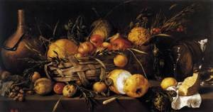 Reproduction oil paintings - Antonio de Pereda - Still-Life with Fruit 1650