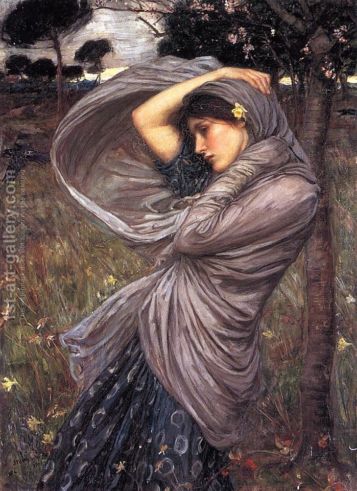 Famous Paintings Of People Boreas 1903