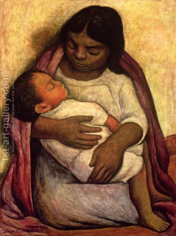 Mother Child Paintings By Famous Artists 1st Art Gallery