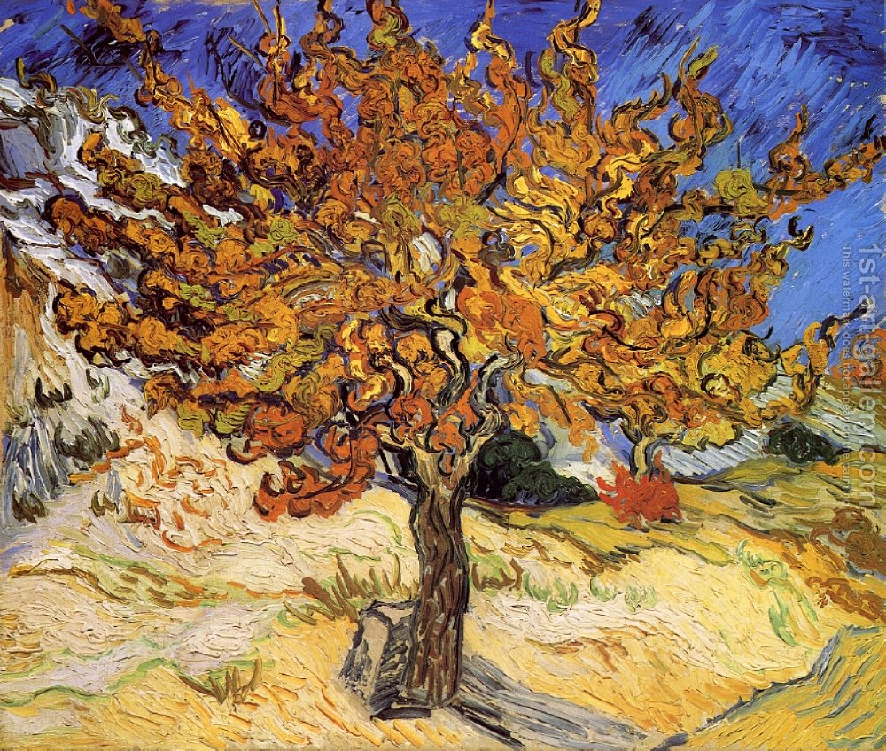 Mulberry Tree Vincent Van Gogh Reproduction | 1st Art Gallery