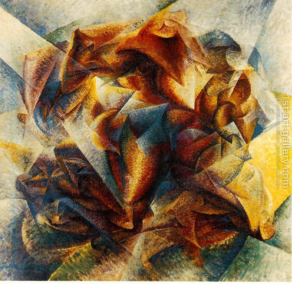 an analysis of umberto boccionis dynamism of a soccer player Category: essays research papers title: futurism my account futurism length: 991 words (28 the museum of modern art holds umberto boccioni's dynamism of a soccer player boccioni's dynamism of a soccer player is a work which is an appropriate example of the manifestation of the.