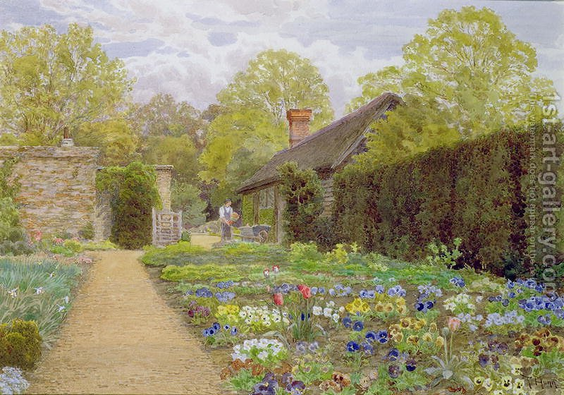 The Pansy Garden Munstead Wood Surrey home of Gertrude Jekyll Thomas on