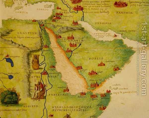 Ethiopia the red sea and saudi arabia from an atlas of the world ethiopia the red sea and saudi arabia from an atlas of the world in gumiabroncs Images