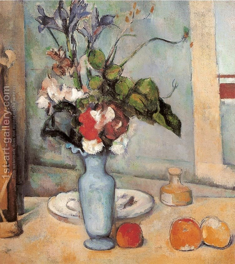 Blue Vase Paul Cezanne Reproduction 1st Art Gallery