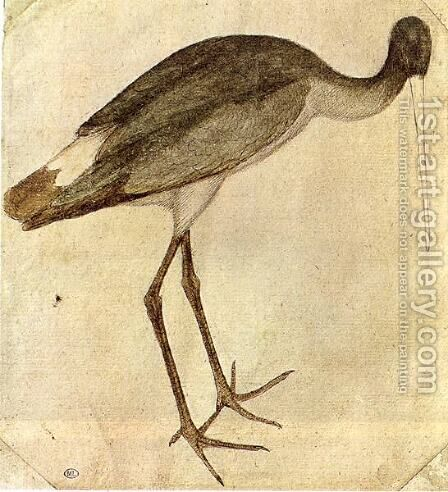 Stork 1430s by Antonio Pisano (Pisanello) - Reproduction Oil Painting