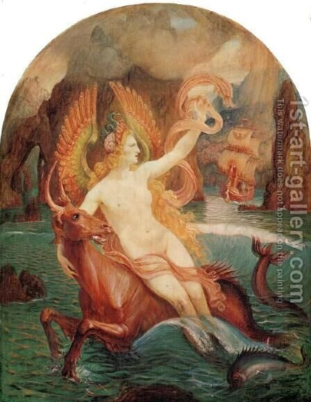 The Siren 1897 by Armand Point - Reproduction Oil Painting