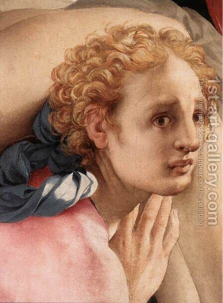 Deposition (detail-5) c. 1528 by (Jacopo Carucci) Pontormo - Reproduction Oil Painting
