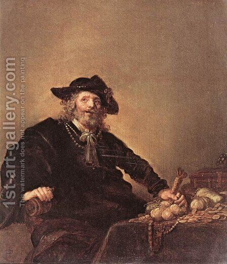 The Miser 1640s by Hendrick Gerritsz Pot - Reproduction Oil Painting