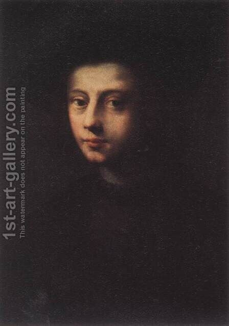 Portrait of Pietro Carnesecchi (2) by Domenico Puligo - Reproduction Oil Painting