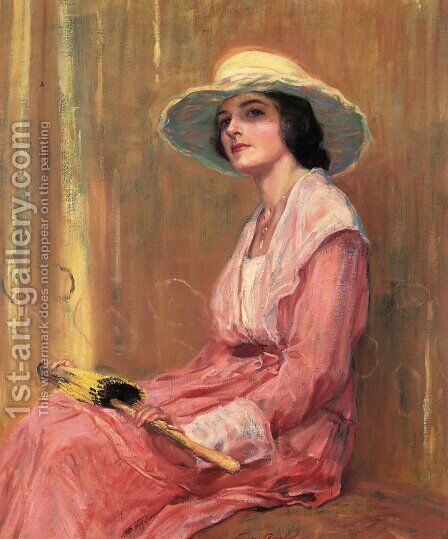 The Model  1919 by Guy Rose - Reproduction Oil Painting