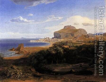 Cefalu 1830 by Carl Rottmann - Reproduction Oil Painting