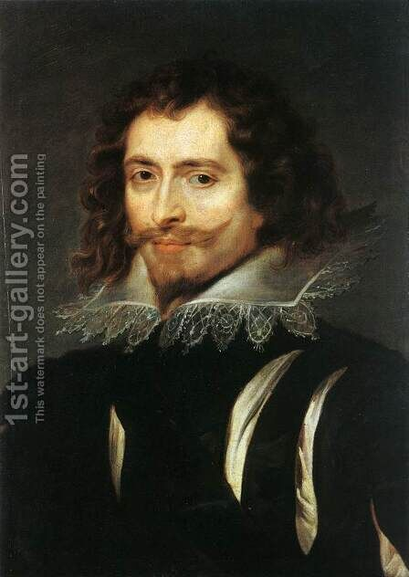 The Duke of Buckingham c. 1625 by Rubens - Reproduction Oil Painting