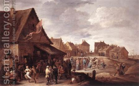 Village Feast by David The Younger Teniers - Reproduction Oil Painting