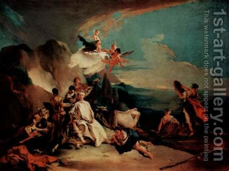 The Rape of Europa c. 1725 by Giovanni Battista Tiepolo - Reproduction Oil Painting