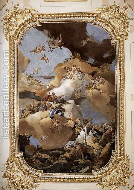 Venus and Vulcan 1762-66 by Giovanni Battista Tiepolo - Reproduction Oil Painting