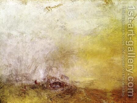 Sunrise with Sea Monsters 1845 by Turner - Reproduction Oil Painting