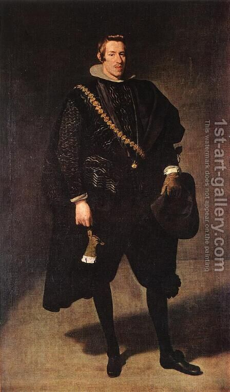 Infante Don Carlos 1626-27 by Velazquez - Reproduction Oil Painting