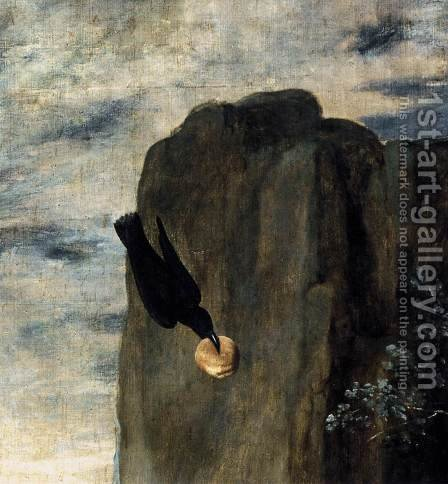 St Anthony Abbot and St Paul the Hermit (detail) c. 1635 by Velazquez - Reproduction Oil Painting