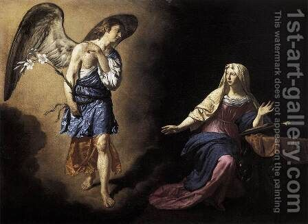 The Annunciation 1667 by Adriaen Van De Velde - Reproduction Oil Painting