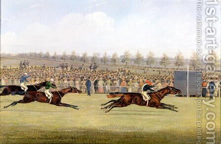 Racing Scene by Henry Thomas Alken - Reproduction Oil Painting