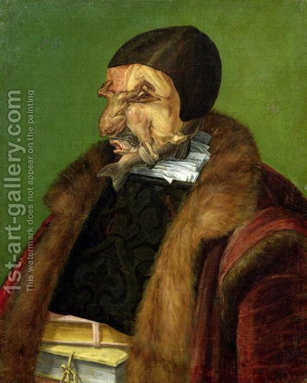 The Jurist 1566 by Giuseppe Arcimboldo - Reproduction Oil Painting