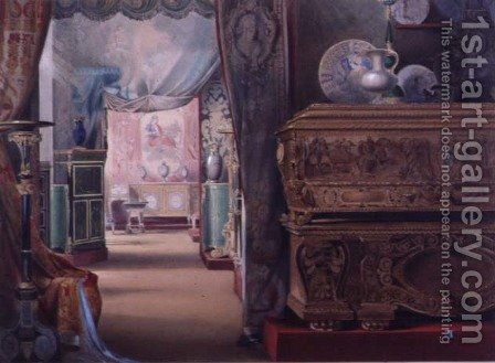 Marlborough House - View of Rooms by Charles Armytage - Reproduction Oil Painting