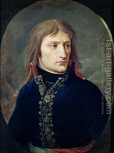 Napoleon Bonaparte by Baron Louis Albert Bacler d'Albe - Reproduction Oil Painting