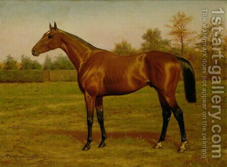 Isinglass, Triple Crown 1893 by Harrington Bird - Reproduction Oil Painting