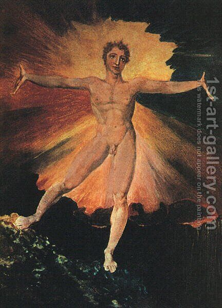 Glad Day or The Dance of Albion, c.1794 by William Blake - Reproduction Oil Painting