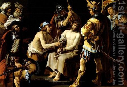 Christ Crowned with Thorns by Andries Both - Reproduction Oil Painting