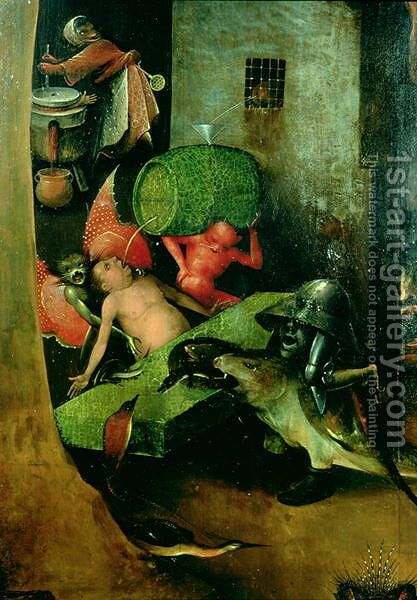 The Last Judgement (3) by Hieronymous Bosch - Reproduction Oil Painting
